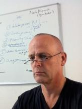Hans West uitleg en gesprek