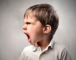 de eerlijke boosheid van een kind