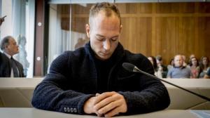 Yuri van Gelder in de beklaagdenbank