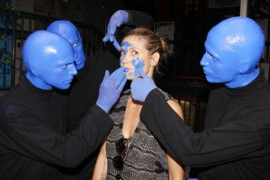 Heidi Klum influenced by Blueman